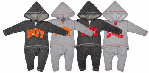 Koala Baby Dres bawełniany kolekcja Boys and Girls 74 Szary Girl
