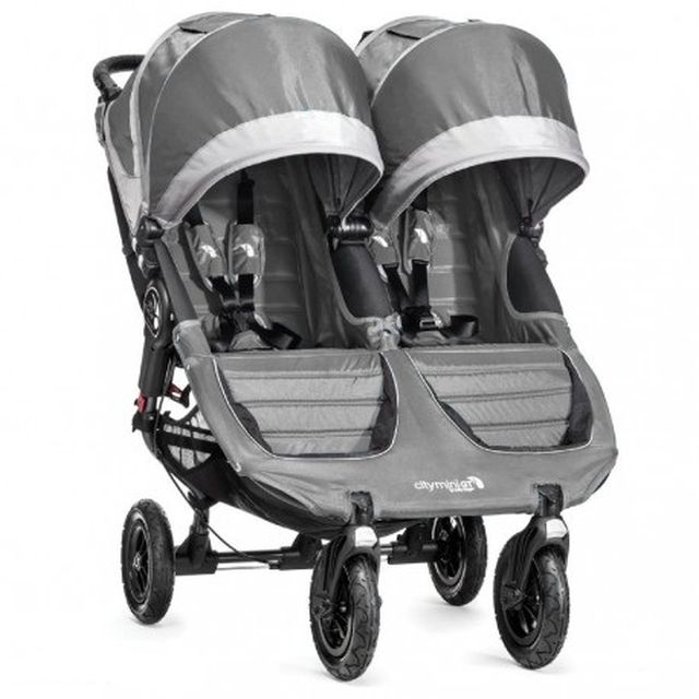 Podwójny wózek spacerowy dla bliźniąt City Mini Double GT Baby Jogger