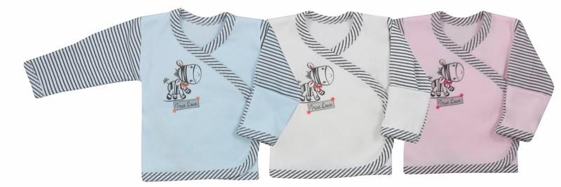 Koszulka bawełniana dla dzieci i niemowląt Zebra Koala Baby 62 Ecru