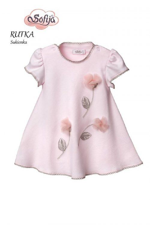 Sukienka Rutka, Sofija 68 różowa