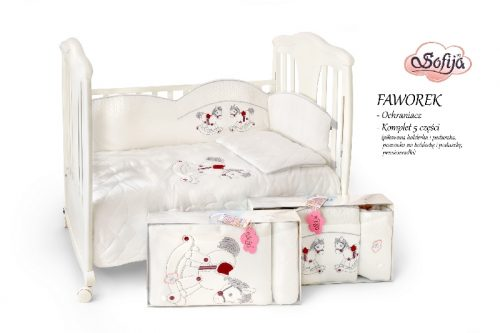 Ochraniacz do łóżeczka Faworek, Sofija