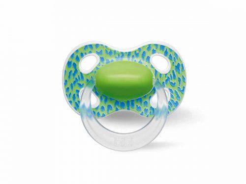 Bibi smoczek silikonowy natural Happy Wild Baby 0+ Zielony