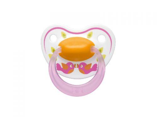 BIBI Smoczek ortodontyczny kolekcja Play With Us 16 m+ Ptaszek