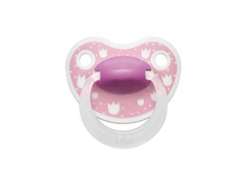 BiBi Smoczek ortodontyczny kolekcja Lovely dots 16 m+ Różowy
