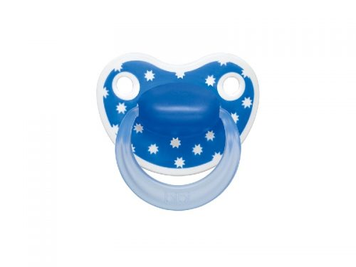 BiBi Smoczek ortodontyczny kolekcja Lovely dots 16 m+ Niebieski