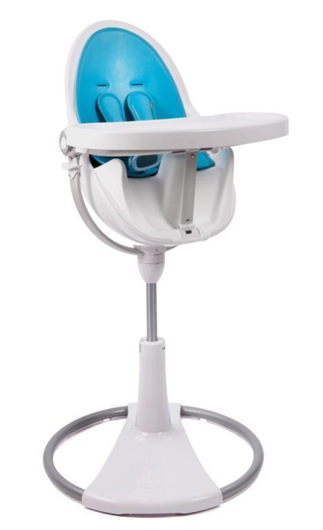 Stelaż krzesełka do karmienia Bloom Fresco Chrome biały