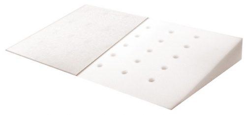 Poduszka klin dla niemowląt Klin 40x36 cm Baby Matex biała