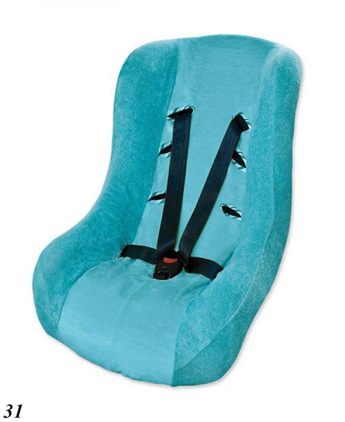 Pokrowiec na fotelik samochodowy 9-18 kg Baby Matex turkus