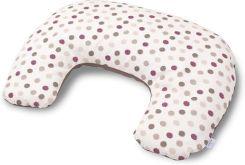 Poduszka Aeroslim z pianki termoplastycznej 40x26 cm Baby Matex groszki