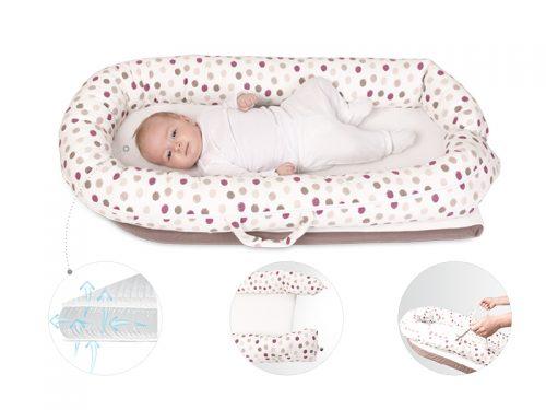 Gniazdo kokon dla dziecka z materacem air Baby Matex