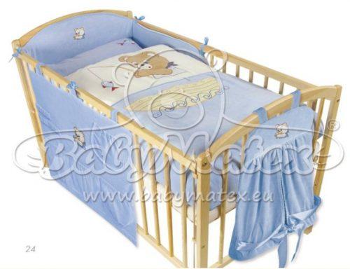 Komplet pościeli 2 elementy Misiaczki Bears Matex Baby misiaczki niebieskie