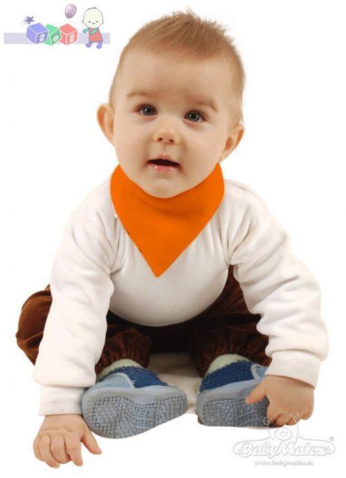 Chusteczka pod szyję dla niemowląt Muffi Baby Matex zielona