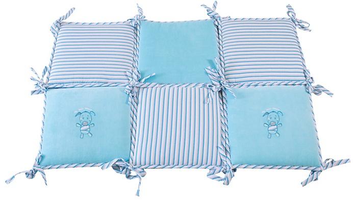 Ochraniacz do łóżeczka welur + jersey Best Friend Baby Matex