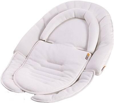 Wkładka Snug dofotelika, leżaczka, krzesełka do karmienia Bloom Biały