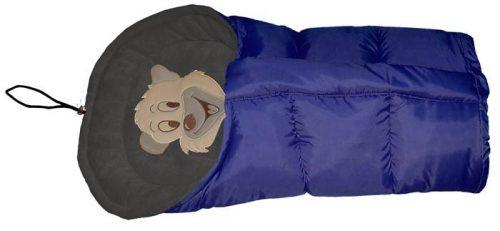 Polarowy śpiworek do wózka dopinany 90 lub 110  cm Szafir Granat