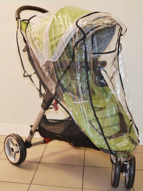 Folia przeciwdeszczowa do wózków Baby Jogger City Mini 3, 4 i GT