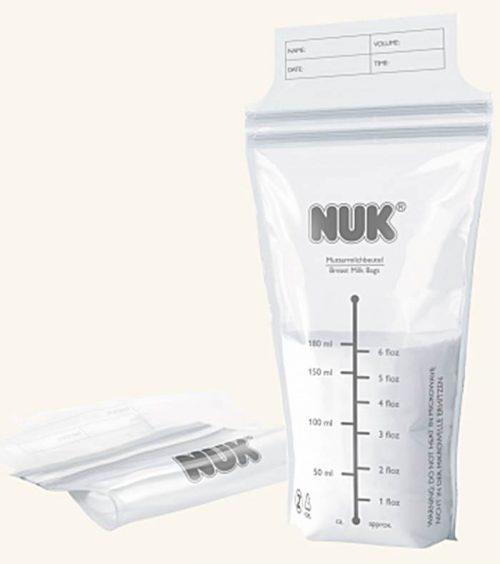 Woreczki na mleko matki 25 sztuk Nuk