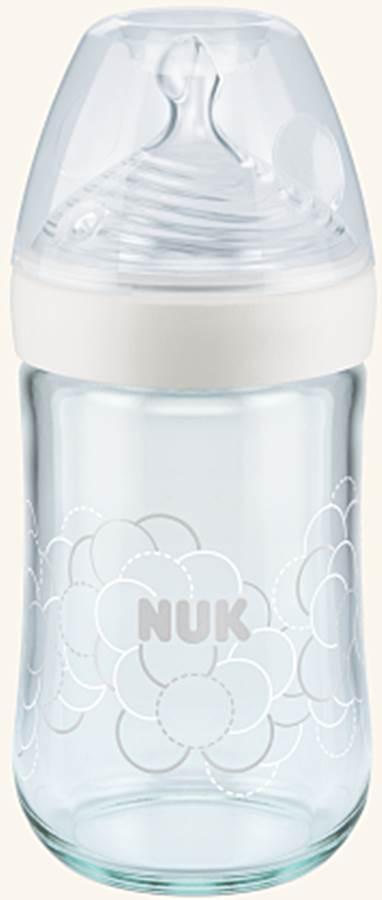 Butelka szklana 0-6 msc 240 ml Nature Sense Nuk Biały