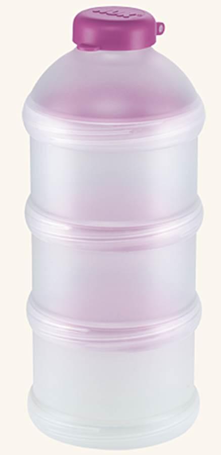 Praktyczny pojemnik na mleko w proszku NUK_Fioletowy
