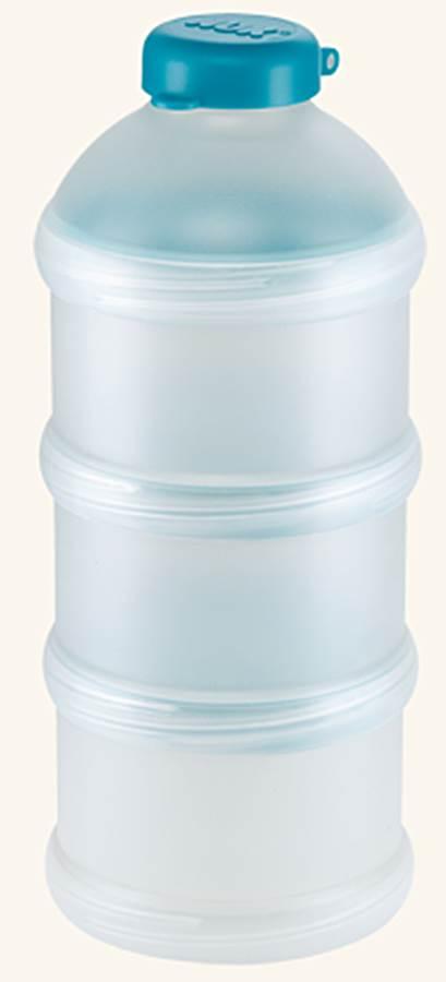 Praktyczny pojemnik na mleko w proszku NUK Morski