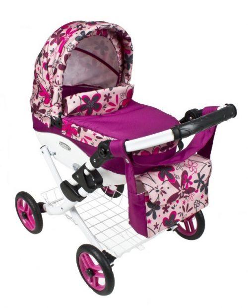 Wózek lalkowy Lily z plastikową gondolą K13
