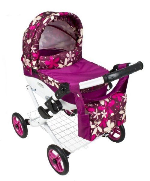 Wózek lalkowy Lily z plastikową gondolą K16