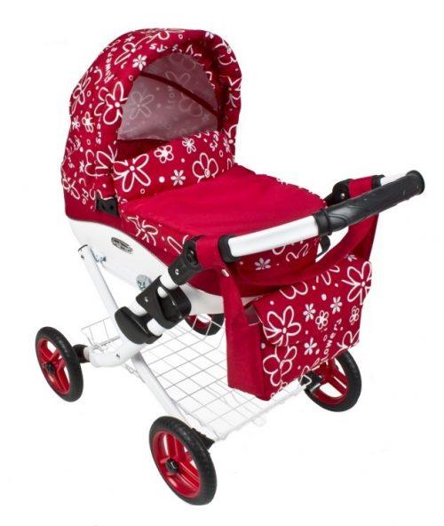 Wózek lalkowy Lily z plastikową gondolą K17