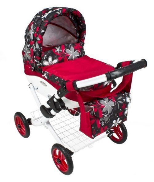 Wózek lalkowy Lily z plastikową gondolą K18