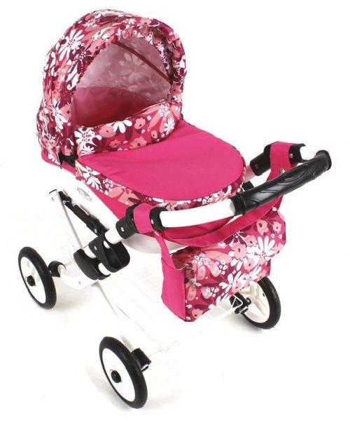 Wózek lalkowy Lily z plastikową gondolą K20