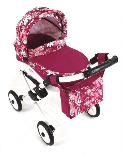 Wózek lalkowy Lily z plastikową gondolą K21