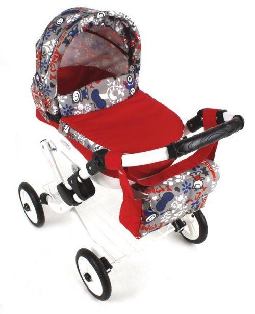 Wózek lalkowy Lily z plastikową gondolą K23