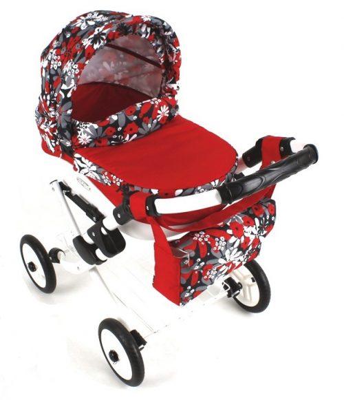 Wózek lalkowy Lily z plastikową gondolą K24