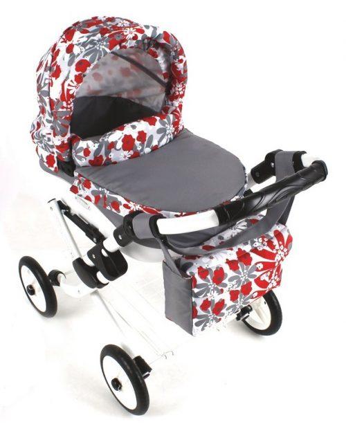 Wózek lalkowy Lily z plastikową gondolą K25
