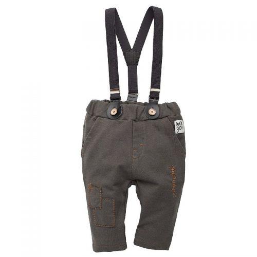 Pinokio spodnie spodnie długie na szelkach Old Cars 74