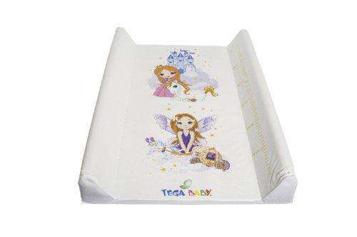 Przewijak na łóżeczko 70x50 Księżniczka Tega Baby biały