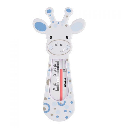 BabyOno Termometr pływający do kąpieli Żyrafa kolor Biały