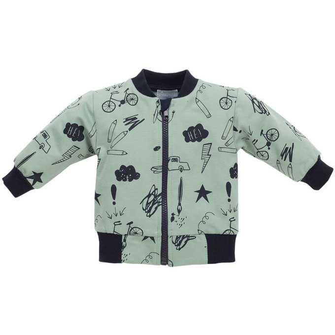 Rozpinana bluza z długim rękawem kolekcja Xavier Pinokio 80