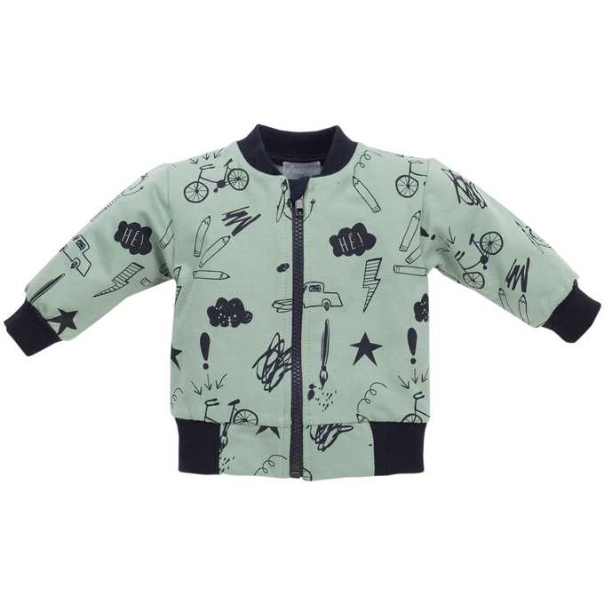Rozpinana bluza z długim rękawem kolekcja Xavier Pinokio 74