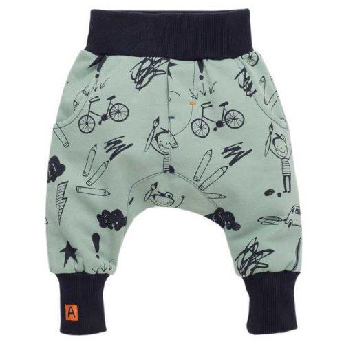 Pumpy, spodnie kolekcja Xavier Pinokio 68 Zielony
