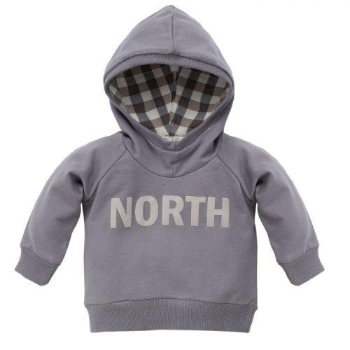 Bluza z długim rękawem dla dziecka Pinokio North 80 Szary