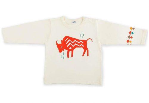 Bluzeczka z długim rękawem z indiańskiej kolekcji Tipi Pinokio 116 Ecru