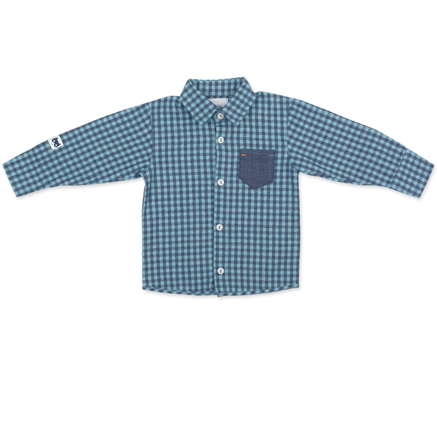 Koszula chłopięca z długim rękawem Garcon Pinokio 74