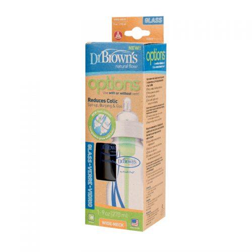 Dr Browns szklana butelka szeroka szyjka 270ml options