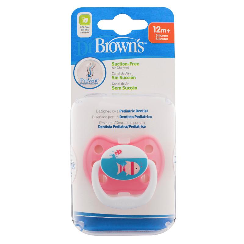 Dr Browns smoczek prevent classic 12+miesięcy 1 szt rybka