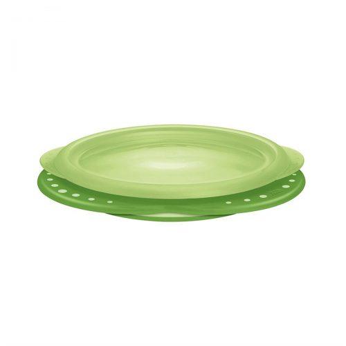 Talerzyk do karmienia z przykrywką Nuk Easy Learning zielony