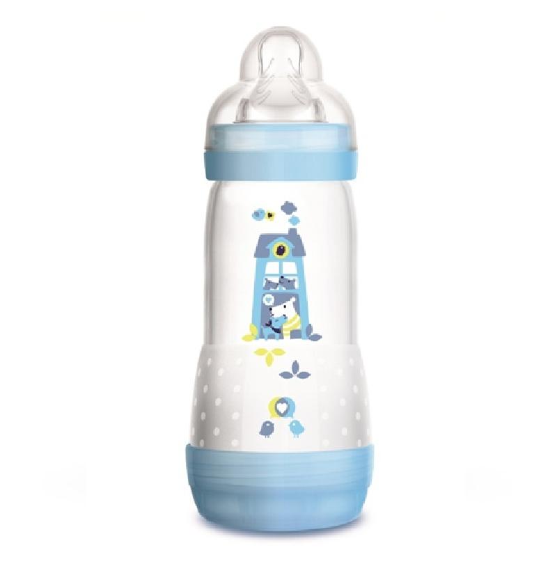 Butelka Mam Anti Colic 320Ml antykolkowa Niebieski