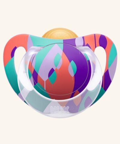 Smoczek kauczukowy Genius Color 6-18m  Nuk