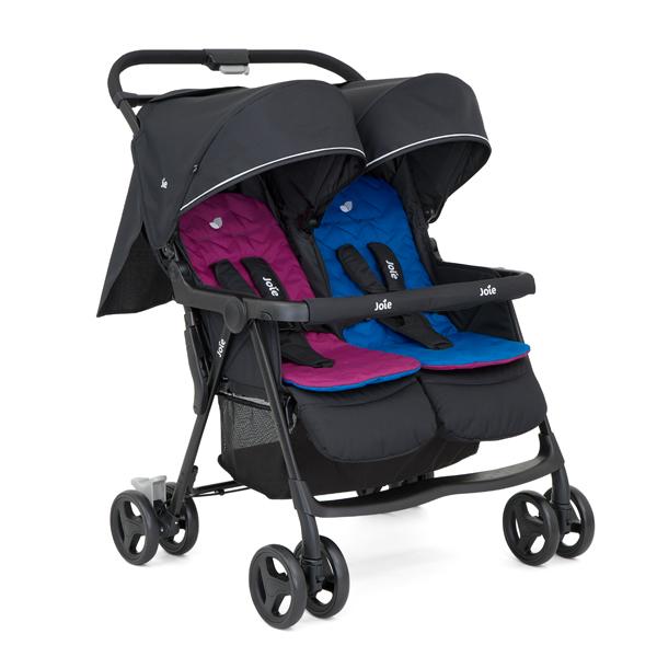 Lekka spacerówka dla dwójki dzieci Joie AIR TWIN