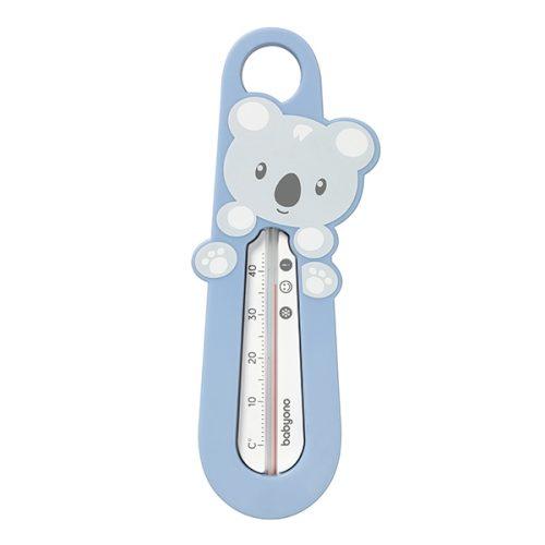 Termometr do kąpieli niemowląt niebieski miś Panda Babyono