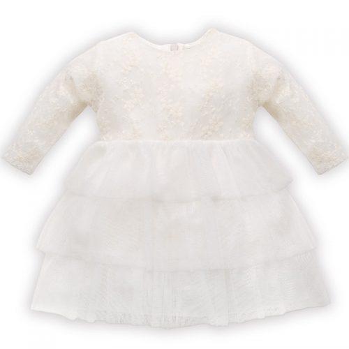 Sukienka na królewny Princess Pinokio 86 Ecru